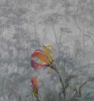 Teoksen nimi: Yksi kukka