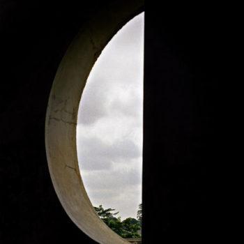 Teoksen nimi: Kuuikkuna, Ghana 1998