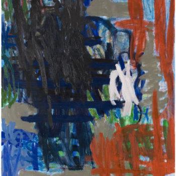 Teoksen nimi: Hengenveto, 2007, öljy kankaalle, 126×100