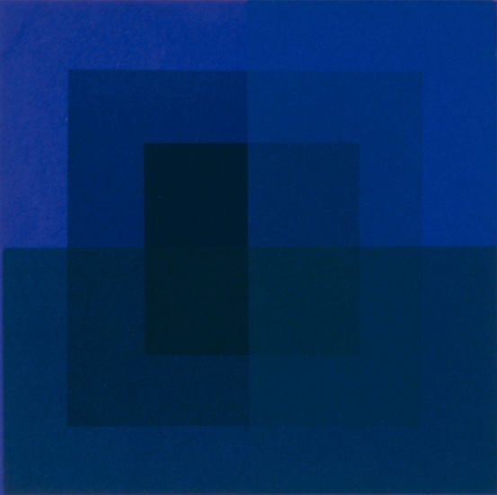 Sininen (1975), Porin taidemuseo, kuva: Erkki Valli-Jaakola