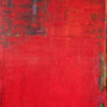 Teoksen nimi: Tummanpunainen ja vähän mustaa