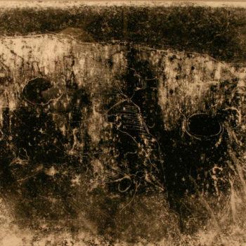 Teoksen nimi: Uhrikallio, 1967