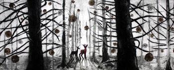 Teoksen nimi: Kukkiva metsä