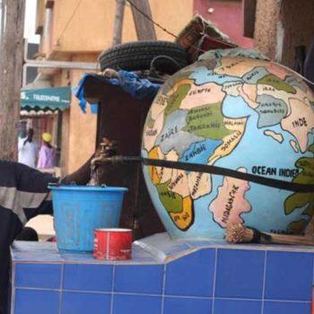 Teoksen nimi: Maapallokaivo, Senegal, Dakar