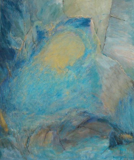 Jumalan vuori  v. 2001   120 x 80 cm