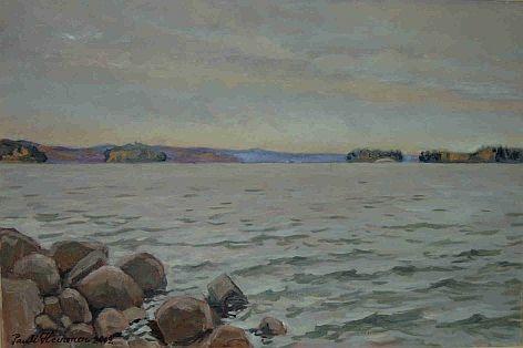 Rannalla, Lohjanjärvi