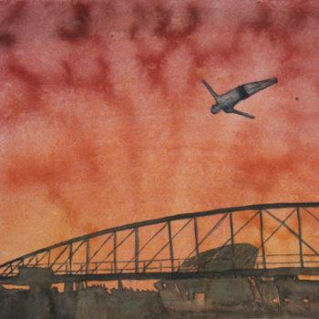 Teoksen nimi: Mies joka osasi lentää, 2011