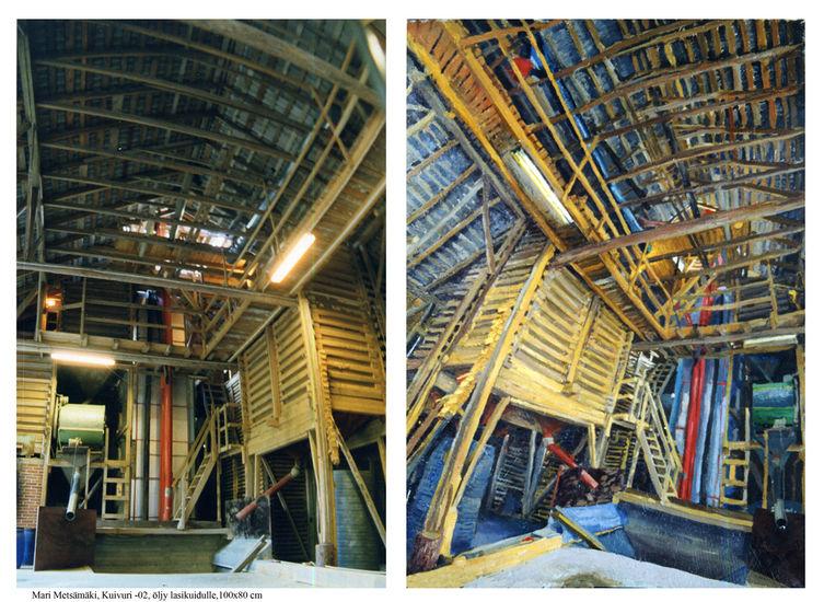 Kuivurin rakenne 2002