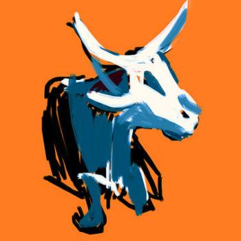 Teoksen nimi: African Cow