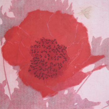 Teoksen nimi: Elämälle III, 2011, puupiirros