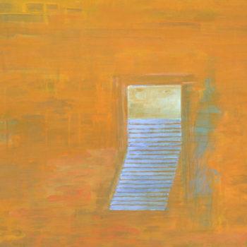 Teoksen nimi: Avoinna, I (Open), 2009, akryyli/acrylic, 55 x 65 cm