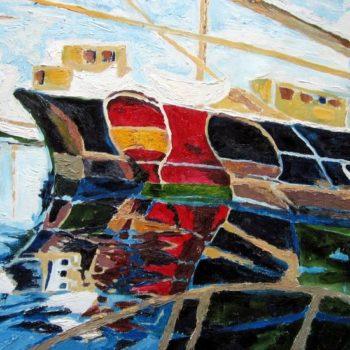 Teoksen nimi: Vanhat laivat