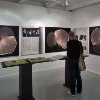 Name of the work: Ungdomens Egen Uppslagsbok in my space at Mänttä exhibition 2008