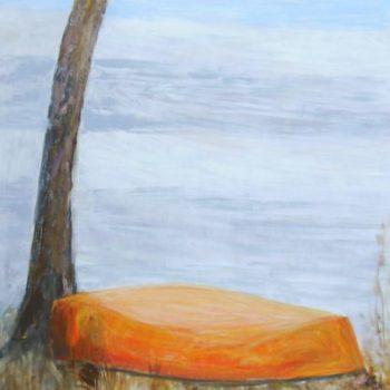 Teoksen nimi: Talvehtiva       120 x 100 cm   v. 2009