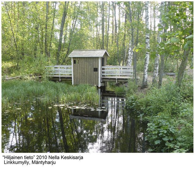 """""""Hiljainen tieto """" silta."""