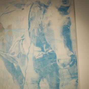 Teoksen nimi: osa teoksesta Mies ja hevonen