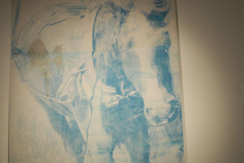 osa teoksesta Mies ja hevonen