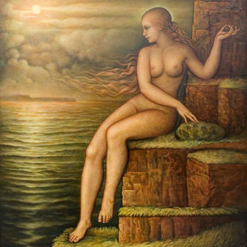 Teoksen nimi: Selene, kuun jumalatar