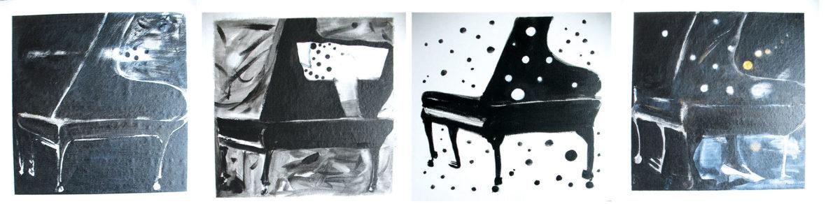 Soittaja rakastuu. The Pianist falls in love.
