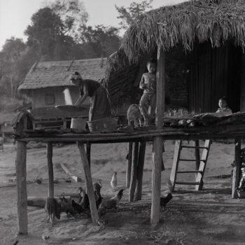 Teoksen nimi: Iltavalo (Laos)