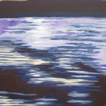 Teoksen nimi: Maisema Urajärveltä 2009