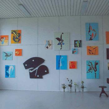 Teoksen nimi: Näyttelykuva Galleria Clara