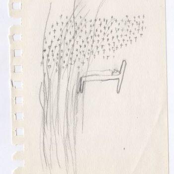 Teoksen nimi: Ote luonnoskirjasta, Sketch 2011
