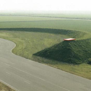 Teoksen nimi: Homage to El Lissitzky, Lelystad, Alankomaat