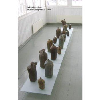Teoksen nimi: Promenadiapteekki, 2007, galleria Promenadi Hyvinkää