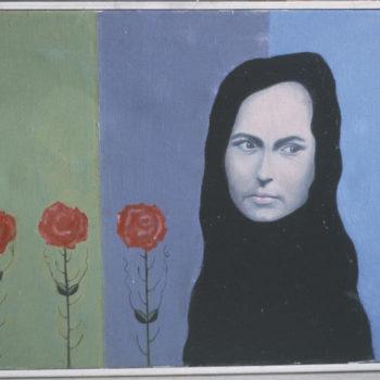 Teoksen nimi: Tyttö ja oudot kukat