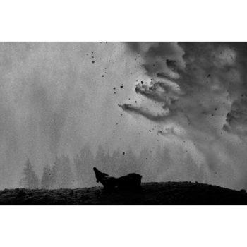 Teoksen nimi: Ice – Stay # 5 METSO JUHA Ice-Stay # 5, 2014 , 80 x 120 cm  Sarjasta Jää-jää / Ice-Stay / Eis-Bleib