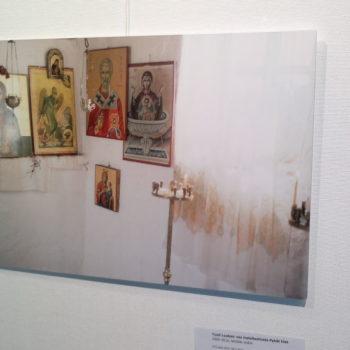 Teoksen nimi: Pyhät tilat, Galleria Stoa, 2013 / Uspenskin katedraalin krypta 2000 –