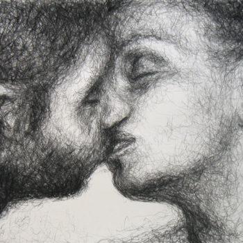 Teoksen nimi: Suudelma / The Kiss