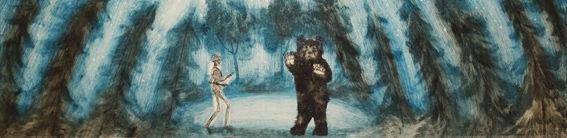 Karhun ja kuoleman kohtaaminen