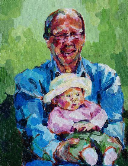 tilaustyö, isä ja tytär