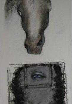 Teoksen nimi: Sinisilmäinen ratsumies