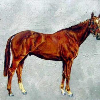 Teoksen nimi: Horse
