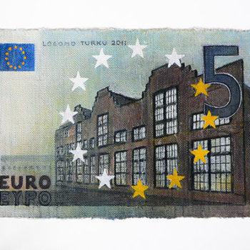 Teoksen nimi: Viisi euroa