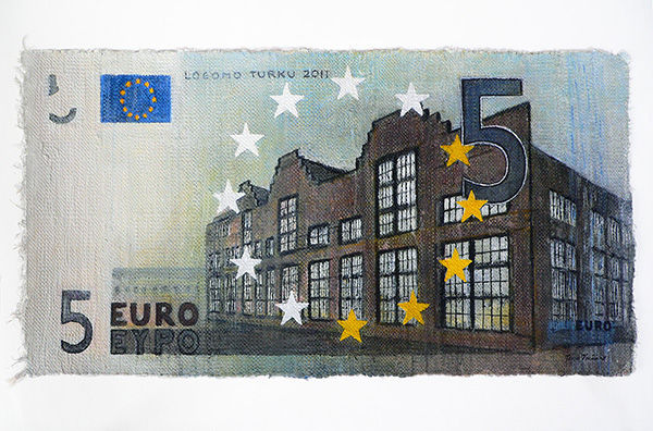 Viisi euroa