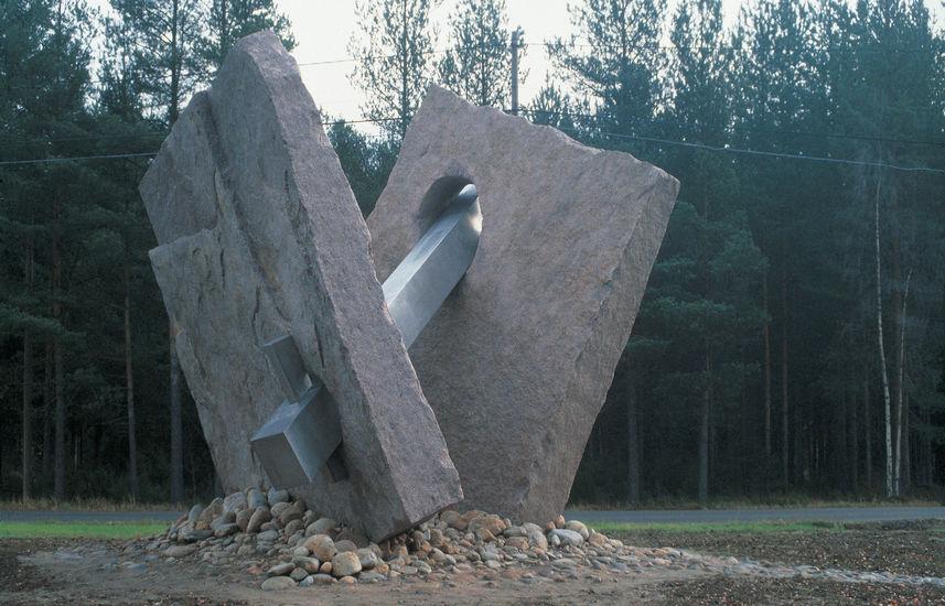 Voima-Vastavoima -monumentti 1988, Altian Koskenkorvan tehdas, Ilmajoki
