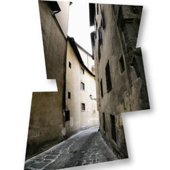 Teoksen nimi: Katu, Firenze