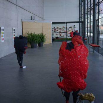 """Teoksen nimi: Vuotalon Galleria kutsunäyttely """"Happy hour"""" vuonna 2012, Helsinki."""