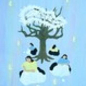 Teoksen nimi: Pitsipuu 1993