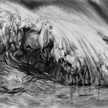 "Teoksen nimi: ""Meren vaahdosta"""