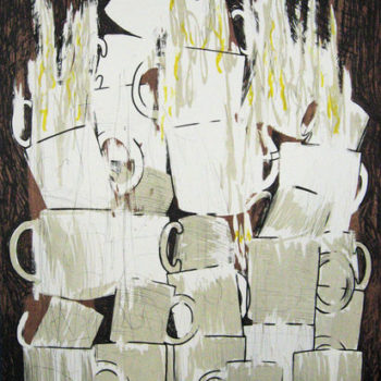Teoksen nimi: Cups on Fire