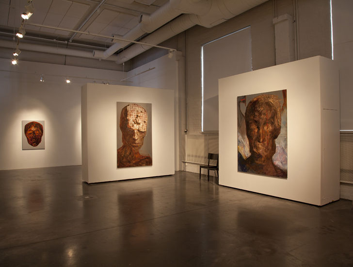 Galleria Korjaamon näyttely 2012