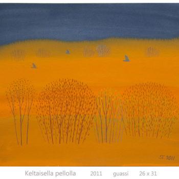 Teoksen nimi: Keltaisella pellolla