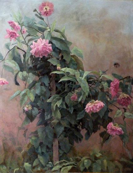 Dahlia. Part 1,2011. Oil on canvas 130x100cm.