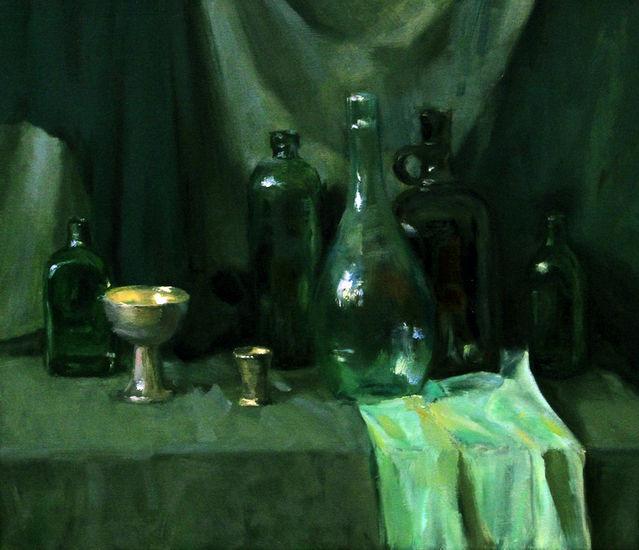 Vihreät pullot