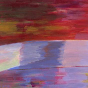 Teoksen nimi: Ilmestys/Apparition/Apparizione, 2012, acrylic, 60 x 130 cm